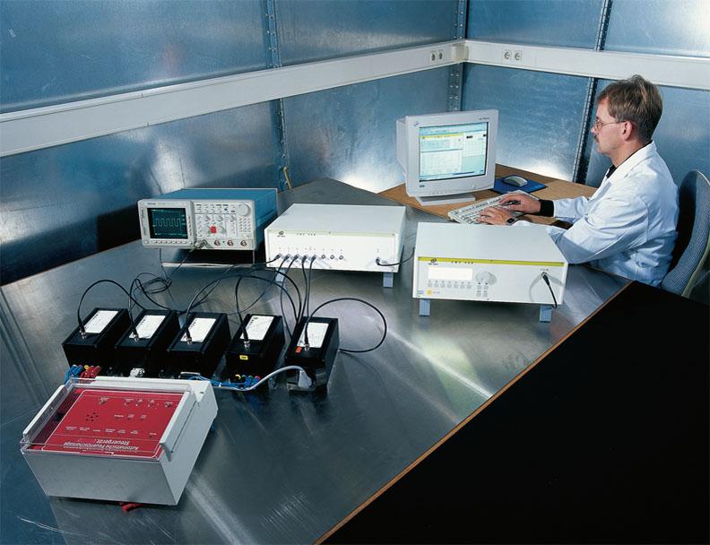 Экранированная камера для испытаний продукции в соответствии с требованиями стандартов ЭМС